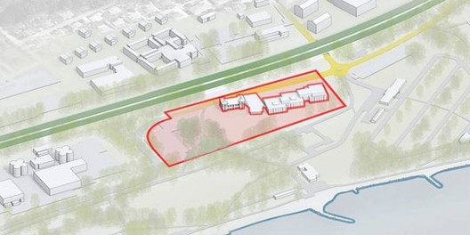 Proposed Site; Courtesy of the IOC