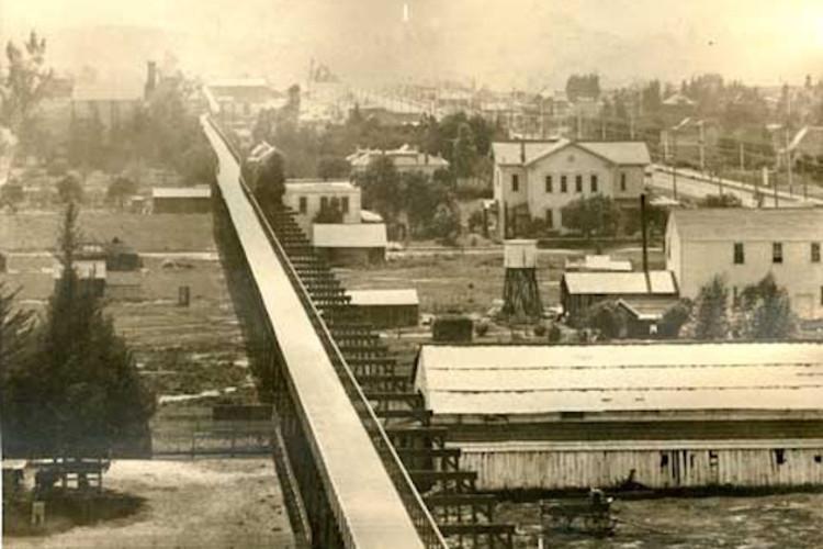"""""""Cycleway California"""": Uma estrada para bicicletas de 1897 em Los Angeles, EUA"""