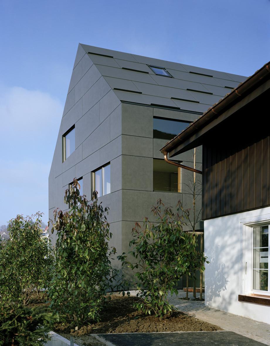 gallery of duplex house in k snacht rossetti wyss architekten 8. Black Bedroom Furniture Sets. Home Design Ideas