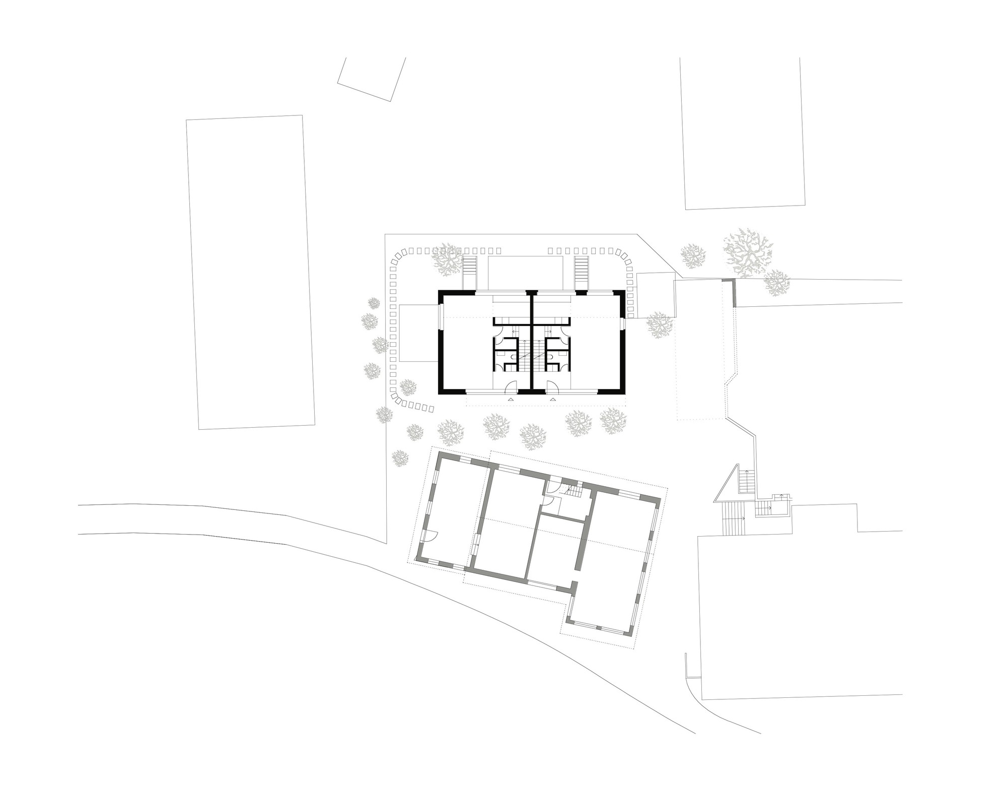 gallery of duplex house in k snacht rossetti wyss architekten 9. Black Bedroom Furniture Sets. Home Design Ideas