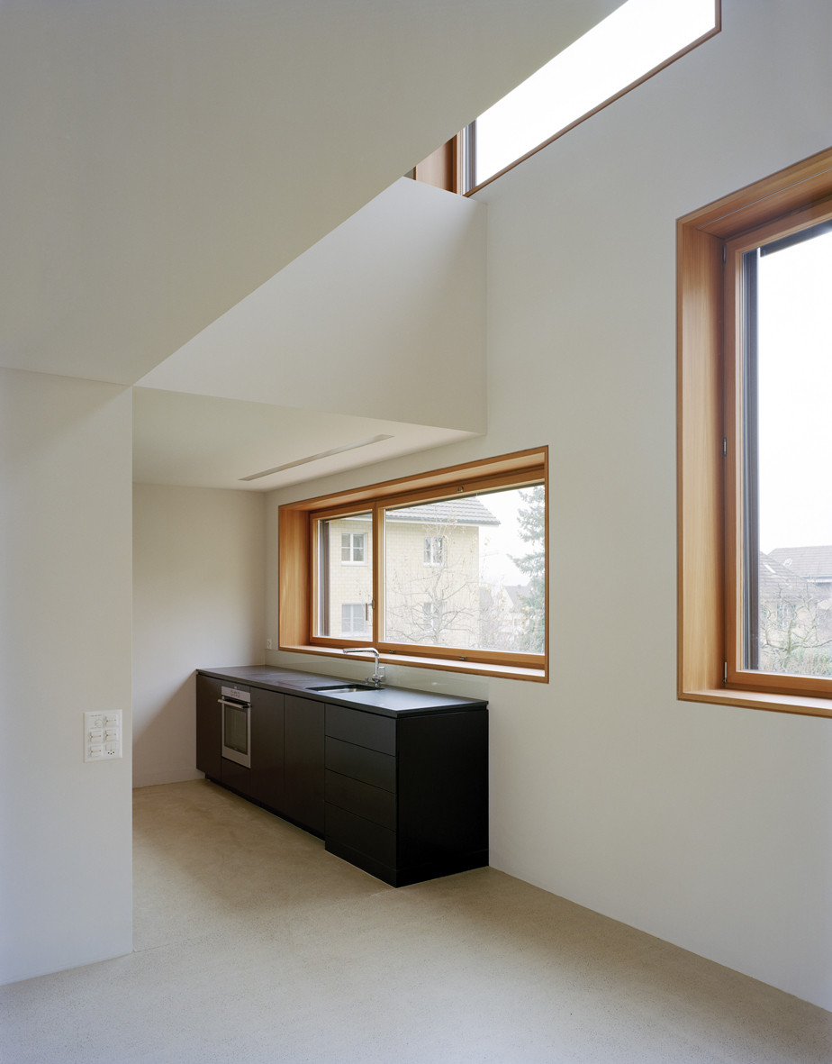 gallery of duplex house in k snacht rossetti wyss architekten 3. Black Bedroom Furniture Sets. Home Design Ideas