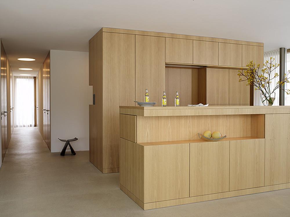gallery of house at zimmerberg bottom rossetti wyss architekten 13. Black Bedroom Furniture Sets. Home Design Ideas