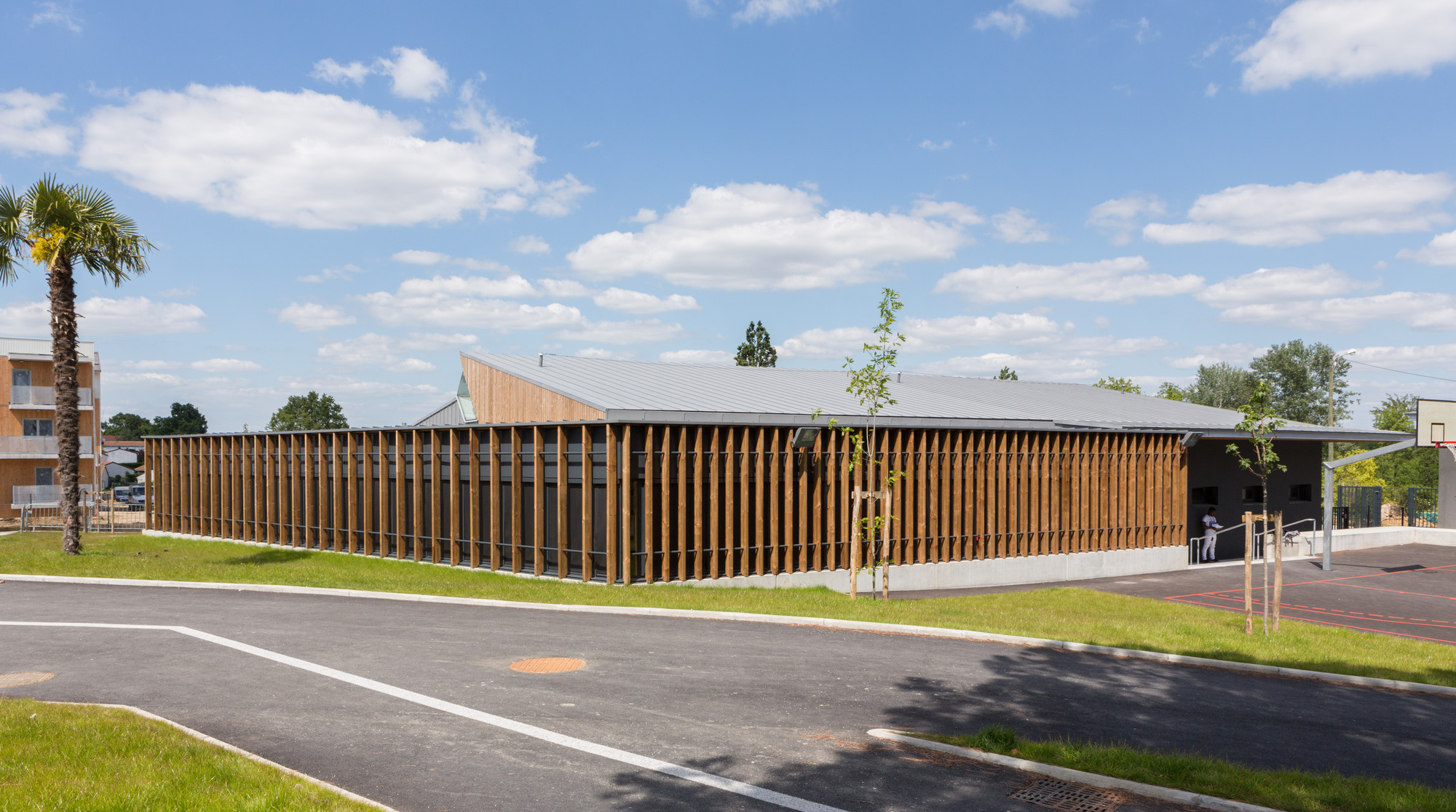 Michel de Montaigne Middle School in Lormont / art'ur architectes, © 11h45