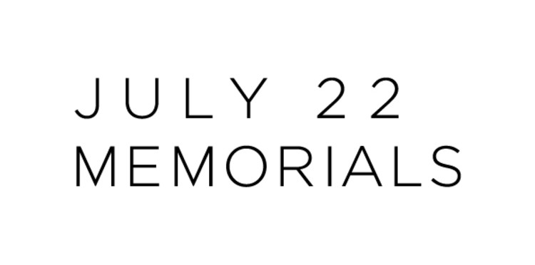 Concurso internacional para os memoriais dos atentados de 22 de julho na Noruega