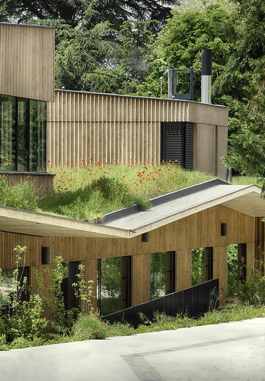 Complejo Escolar en Rillieux-la-Pape / Tectoniques Architects, © Renaud Araud