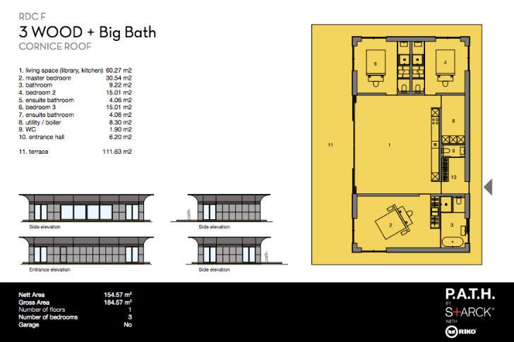 Galer a de philippe starck revela su proyecto de casas for Proyectos de casas ecologicas