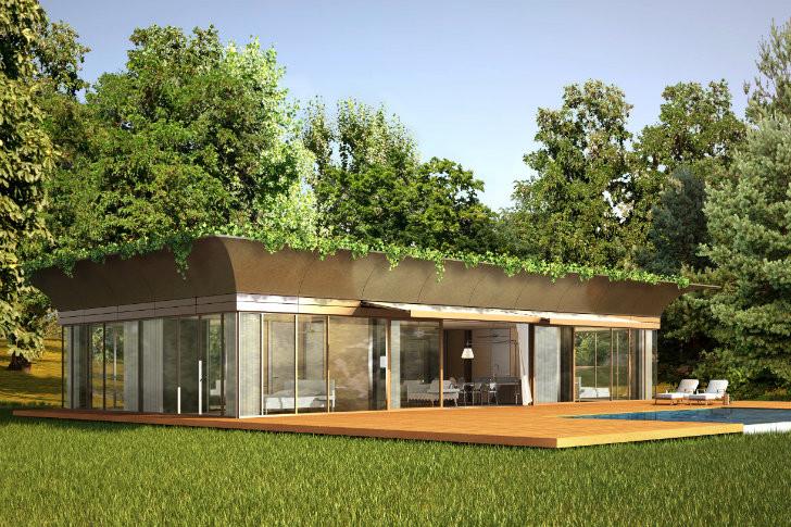 Galeria de philippe starck revela seu projeto de casas - Casa ecologicas prefabricadas ...