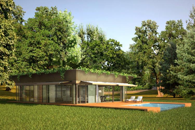 Philippe Starck revela seu projeto de casas ecológicas pré-fabricadas  para a Europa, © P.A.T.H / Philippe Starck + Riko