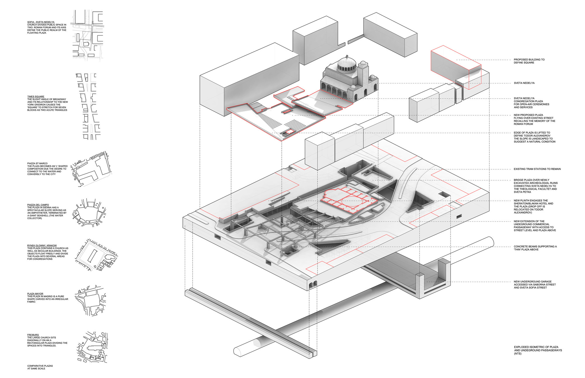 Floating Plaza Competition Entry NC Office ArchDaily