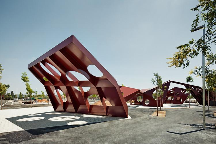 Estructura Multifuncional en el Sector del Saló / Batlle i Roig Arquitectes, © Jordi Surroca