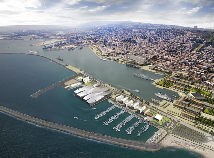 Novo plano para a orla de Haifa / Amir Mann–Ami Shinar Architects and Planners, Cortesia de Amir Mann-Ami Shinar
