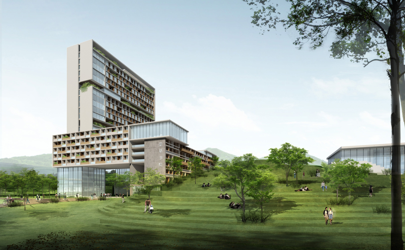 Superb Chinese University Of Hong Kong (Shenzhen Campus) Master Plan Winning  Proposal,Courtesy Of