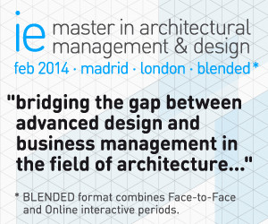 IE Master in Architectural Management and Design and IE Master in Work Space Design present