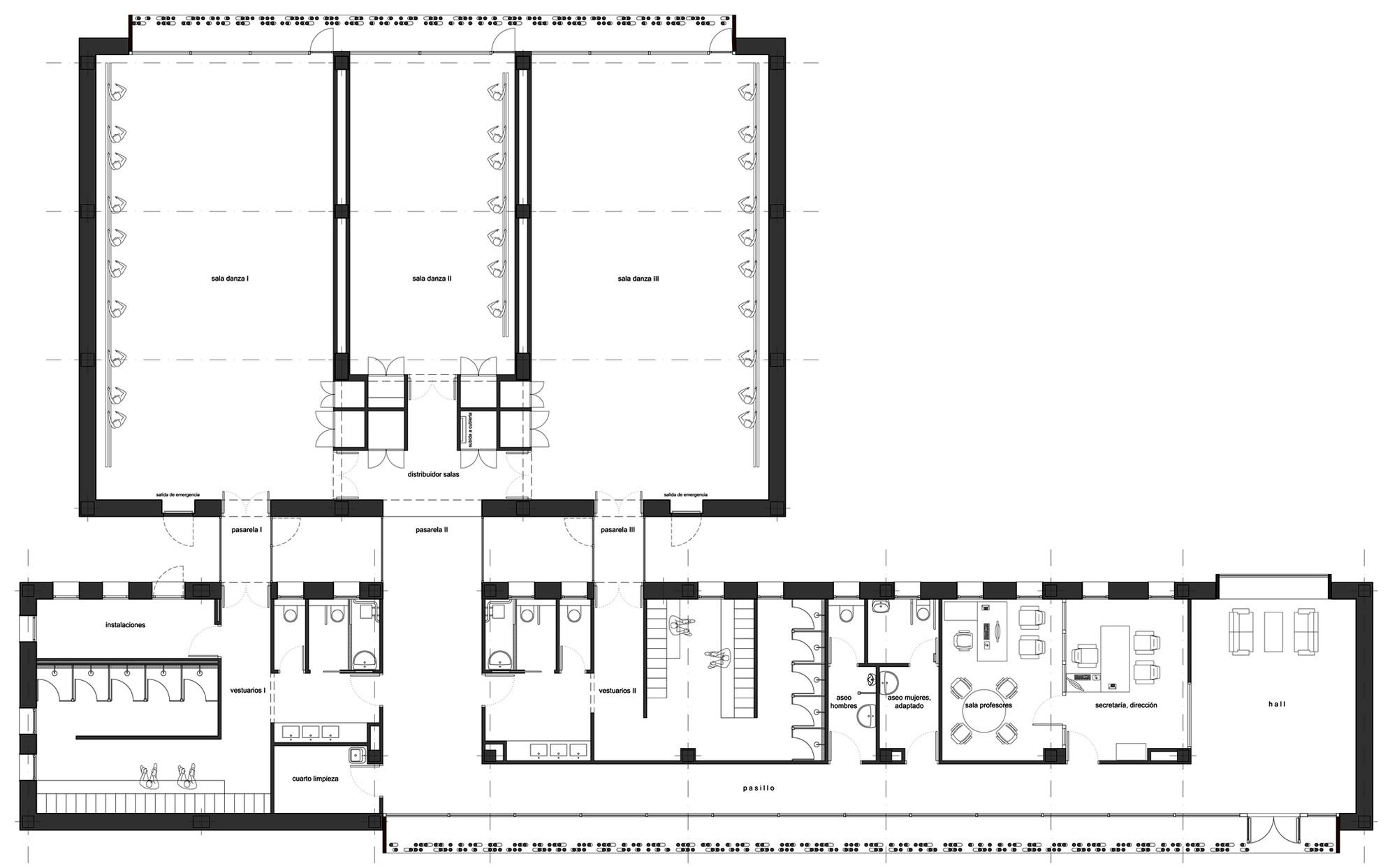 próximo projeto escola jean moulin prinvault architectes projeto  #666666 2000 1243