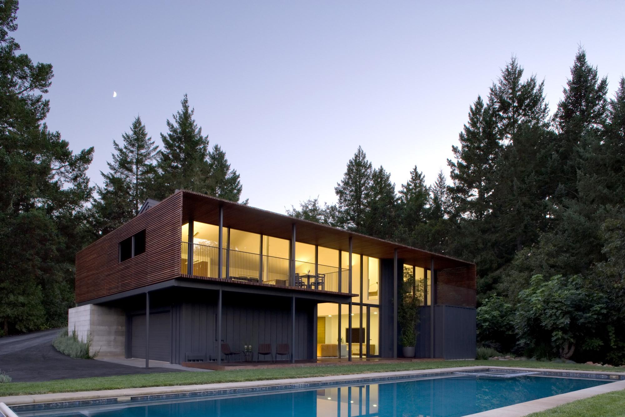 Sonoma Residence / Cooper Joseph Studio, © Elliott Kaufman