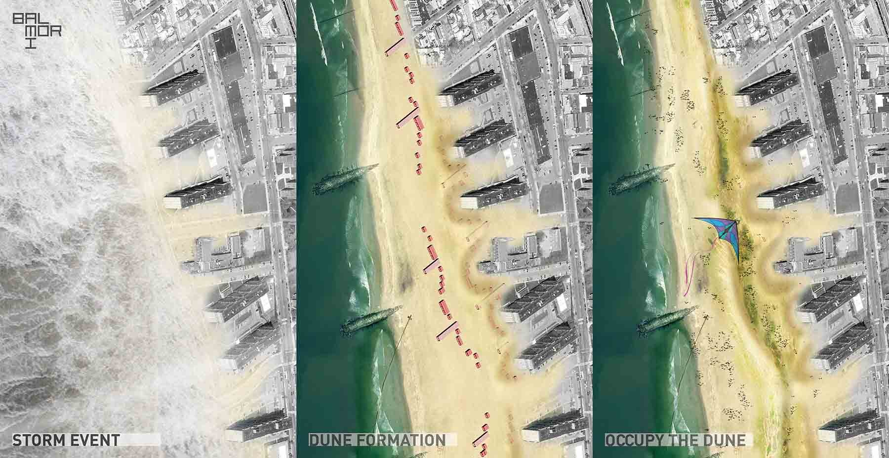 'Occupy the Dune': MOMA PS1 Rockaway Call for Ideas Winning Proposal / Balmori Associates, Courtesy of Balmori Associates