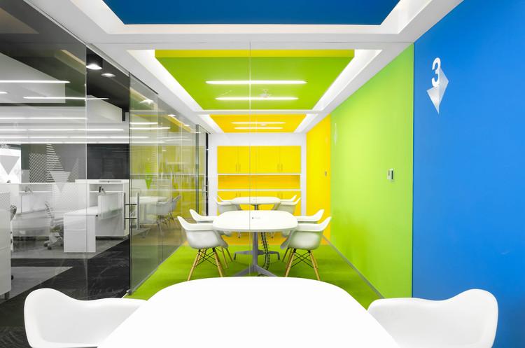 Oficinas corporativas cit group ciudad de m xico oxigeno for Arquitectura de oficinas