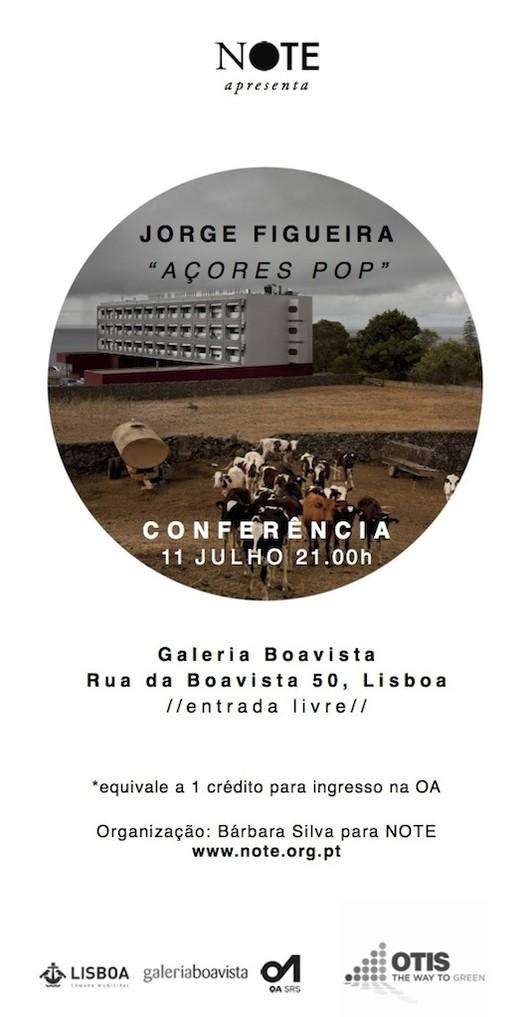 Palestra com o arquiteto Jorge Figueira na Galeria Boavista