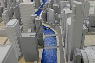 The City of Chicago Gets 3D Printed, Courtesy of The Chicago Architecture Foundation