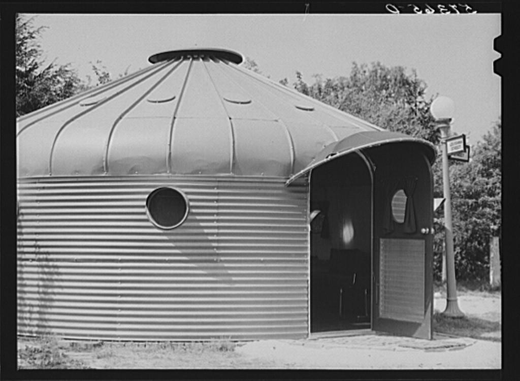 Galeria De Cl 225 Ssicos Da Arquitetura Casa Dymaxion 4d