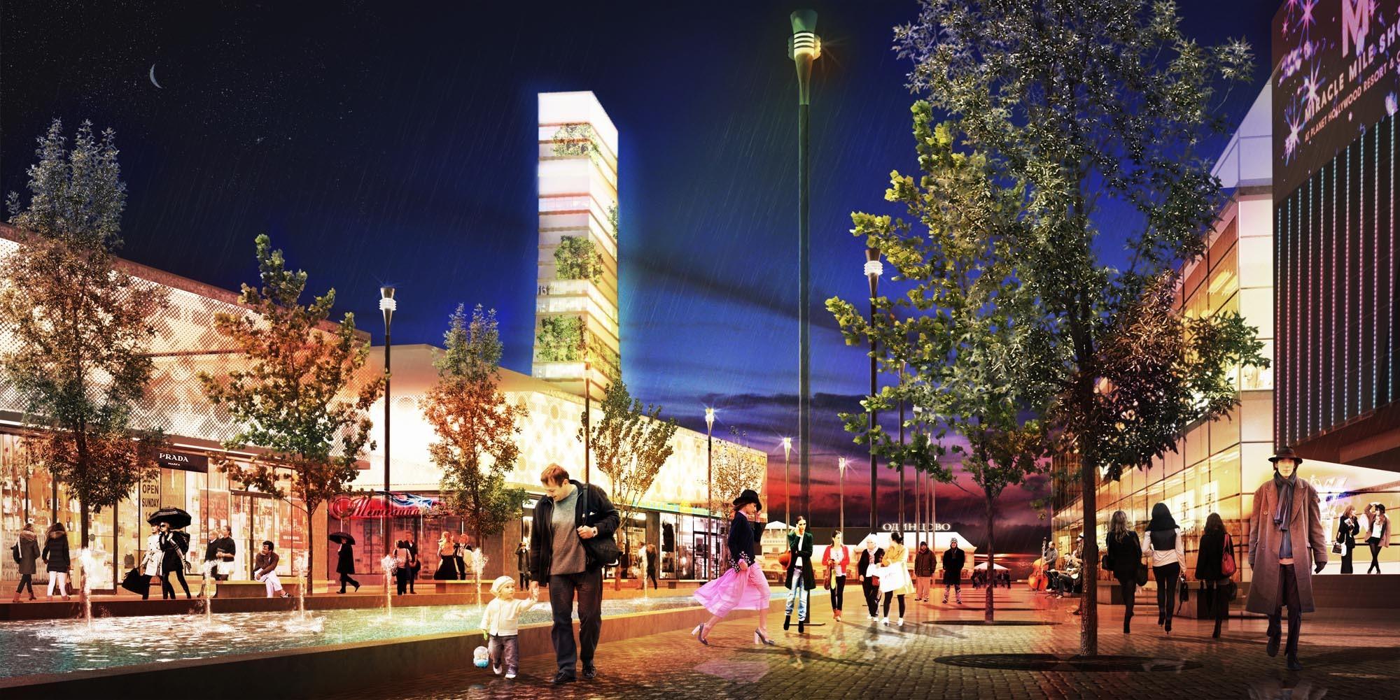 Odintsovo 2020 Eco-City Proposal / de Architekten Cie.