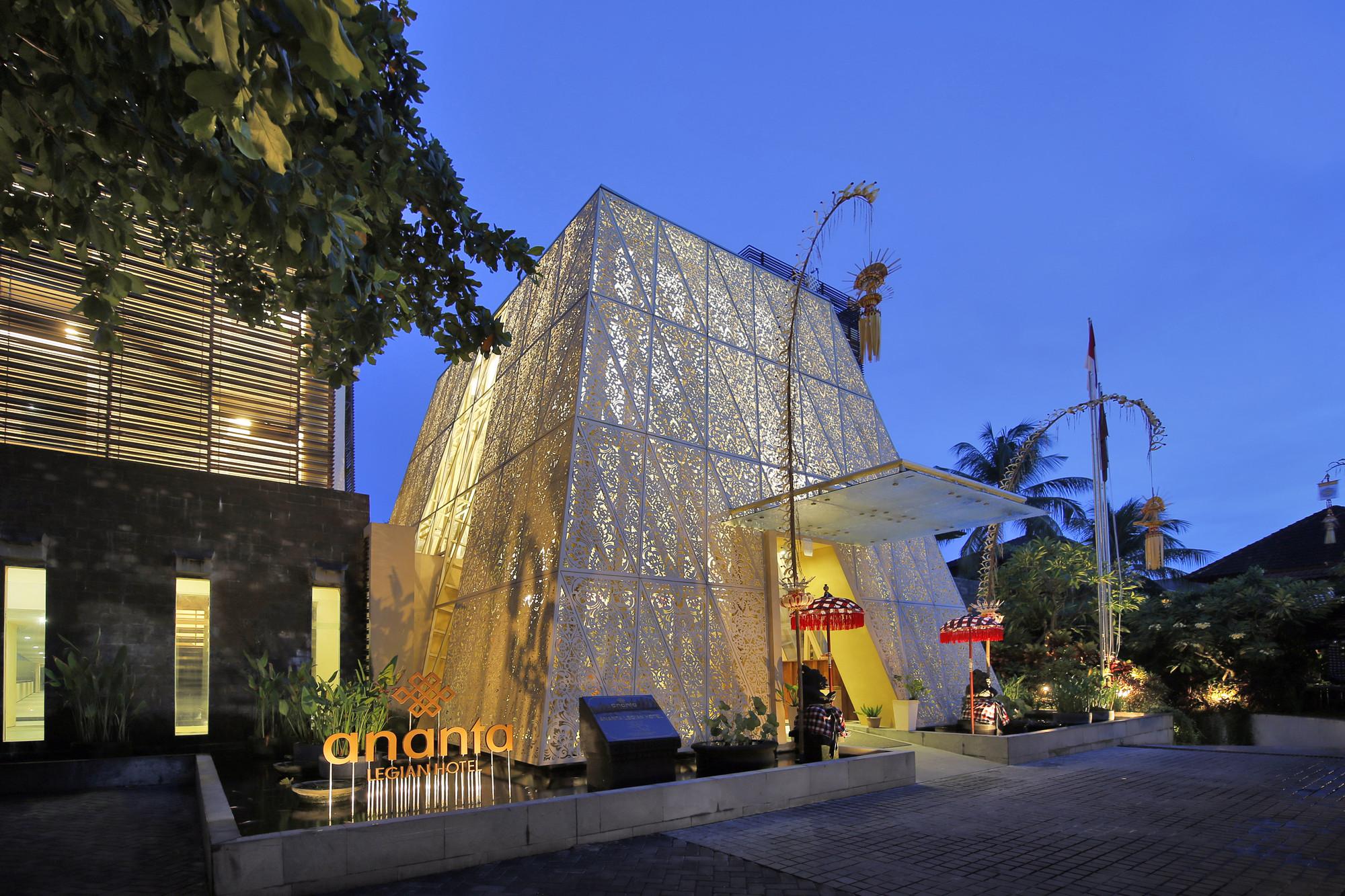 Ananta Legian Hotel Airmas Asri Archdaily