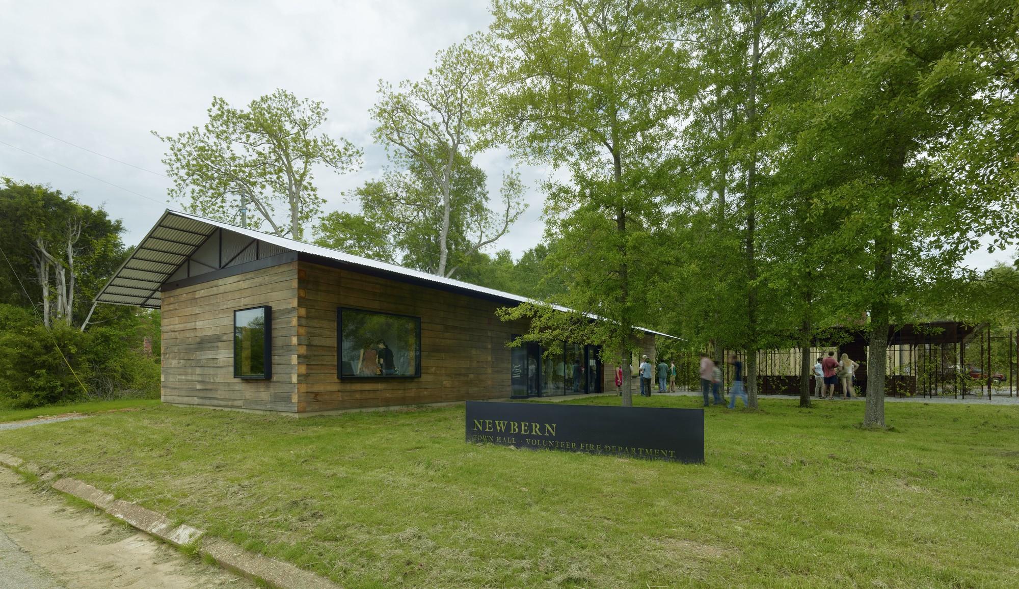 Newbern Town Hall / Auburn University Rural Studio | ArchDaily