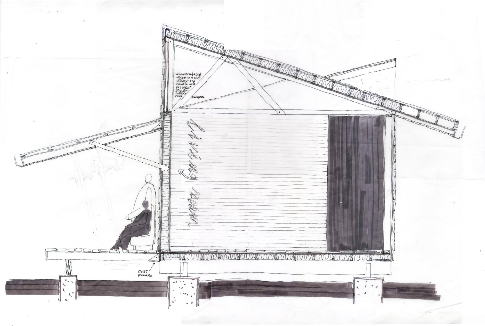 Rose Lee House Auburn University Rural Studio – Rural Studio 20K House Floor Plans