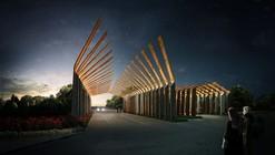 Proposta Vencedora para o Pórtico do Complexo da Villa Ryhan / Waltritsch a+u + Rndr Studio