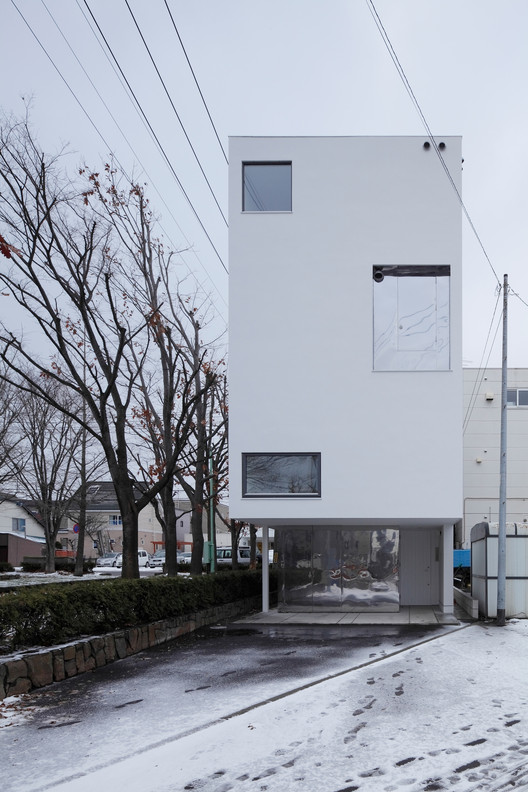 White Collage / Keikichi Yamauchi Architect and Associates, © Koji Sakai