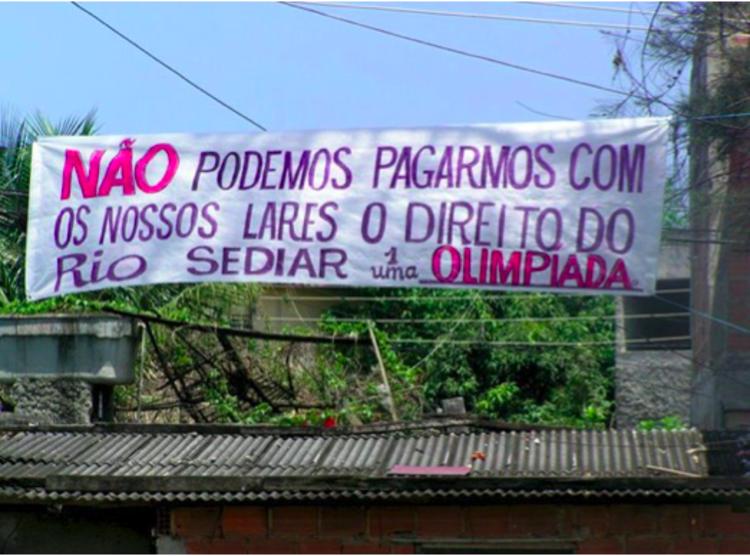 O Direito à Cidade em disputa no Rio de Janeiro: O caso do Plano Popular da Vila Autódromo, Cortesia de Núcleo NEPHU Universidad Federal Fluminense