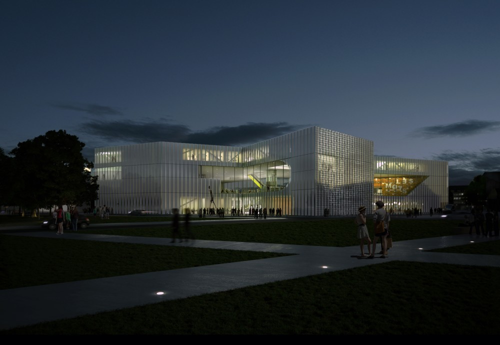 Gallery of OMA Breaks Ground on BMVR Library in Caen - 2