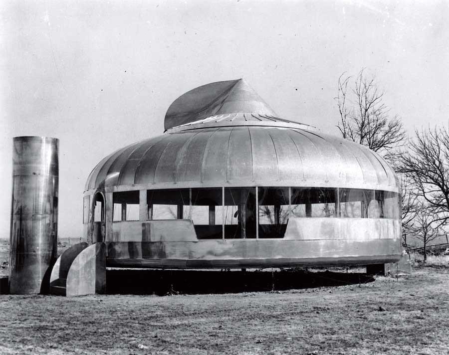 Gallery Of Ad Classics The Dymaxion House Buckminster