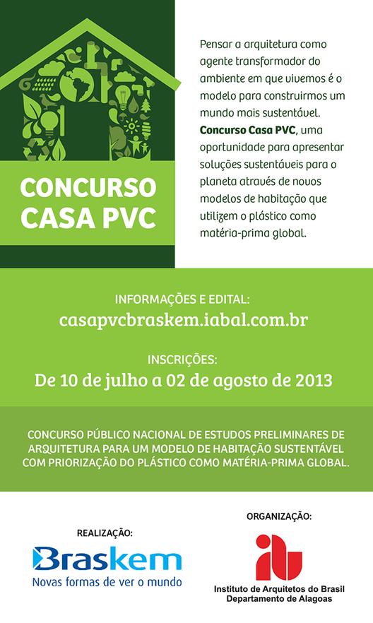 Concurso Público Nacional: Habitação em PVC