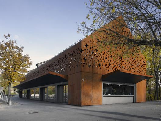 Rhine Falls Visitor Center / Leuppi & Schafroth Architekten