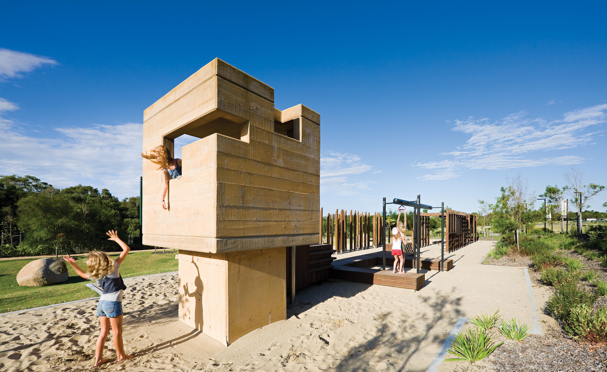 Elysium Playground / Cox Rayner Architects, © Christopher Frederick Jones