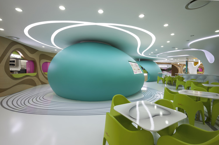Lotte Amoje, Food Capital / Karim Rashid, © Lee Gyeon Bae