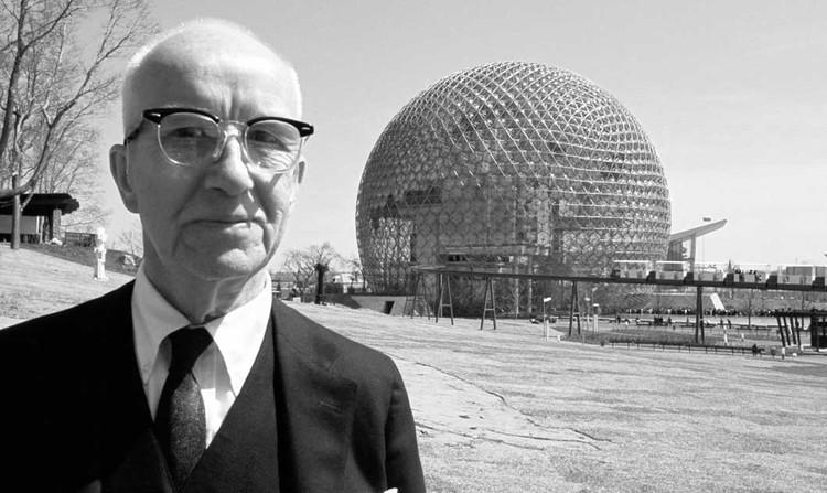 En perspectiva: Buckminster Fuller, © Dennis Stock/Magnum Photos