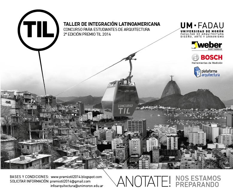 2° Edición del Concurso para estudiantes de Arquitectura Latinoamericanos, Courtesy of TIL