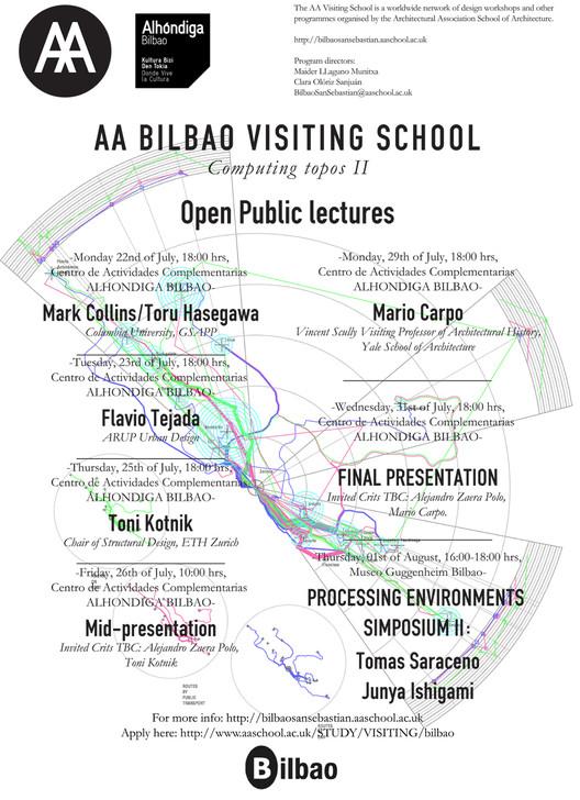 AA Bilbao Visiting School Open Lectures, © AA Visting School