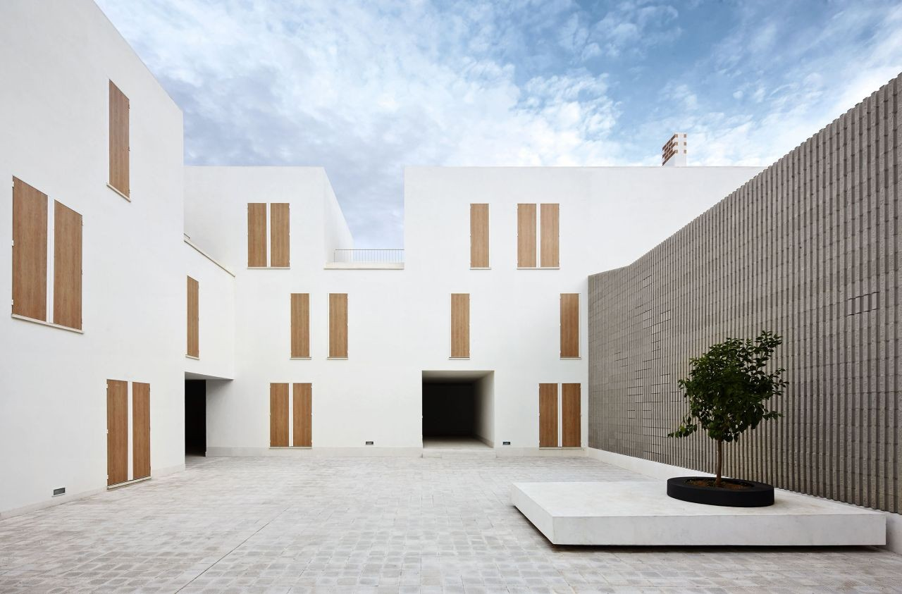 social housing in sa pobla ripolltizon archdaily