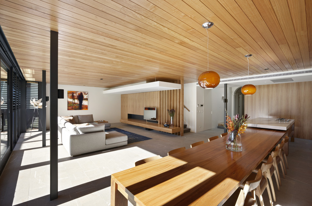 Gallery of hawthorn house am architecture 4 for Living room designs australia