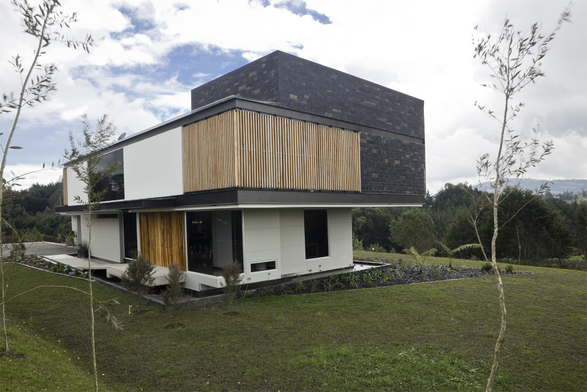 Casa las palmas carlos molina archdaily brasil - Casa activa las palmas ...
