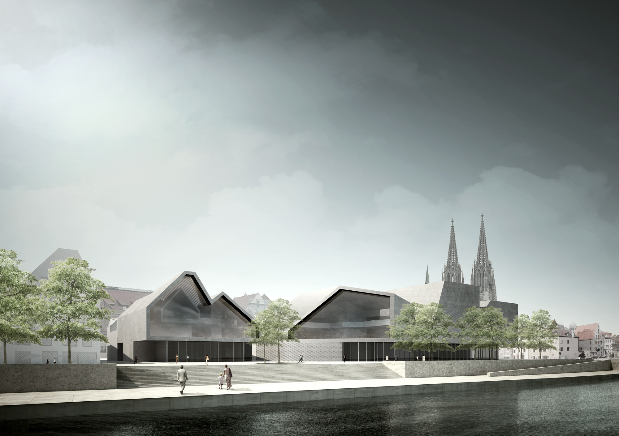Museum of Bavarian History Competition Entry / Simon Takasaki Architecture + Research Studio, Courtesy of Simon Takasaki & Dietmar Köring