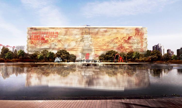 Museu de Arte Nacional da China / Gehry Partners, © Gehry Partners