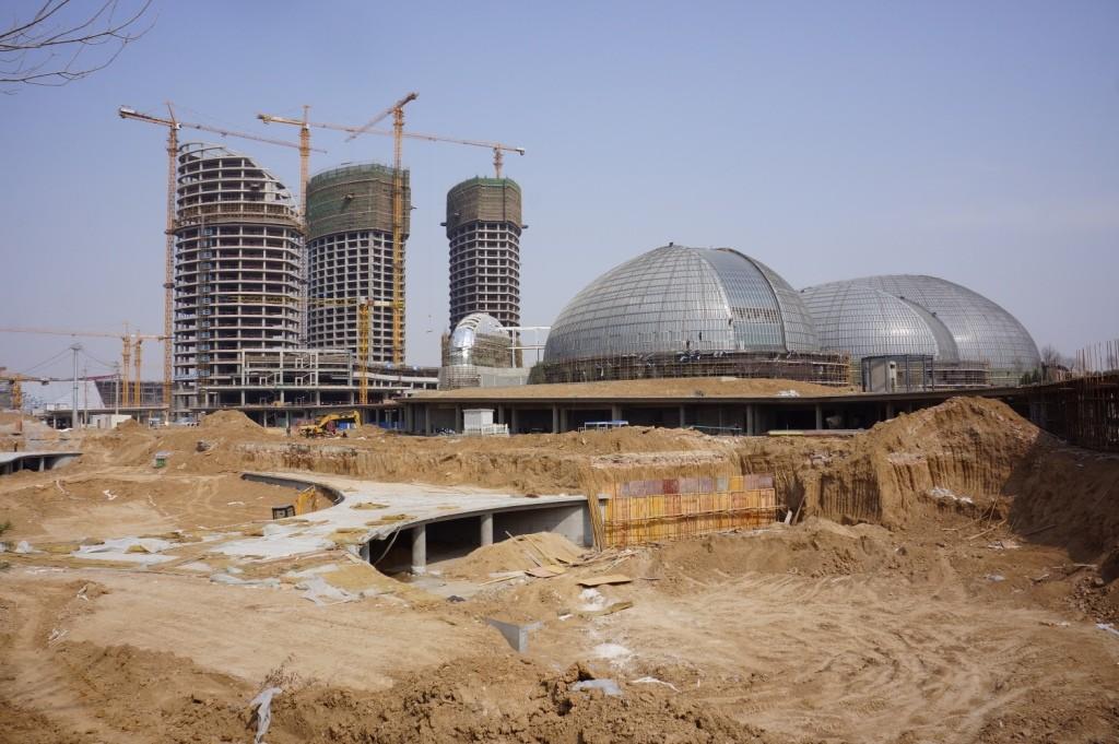 In Progress: Jinan Cultural centre / Paul Andreu Architecte + Richez Associes + BIAD, Courtesy of Paul Andreu Architecte
