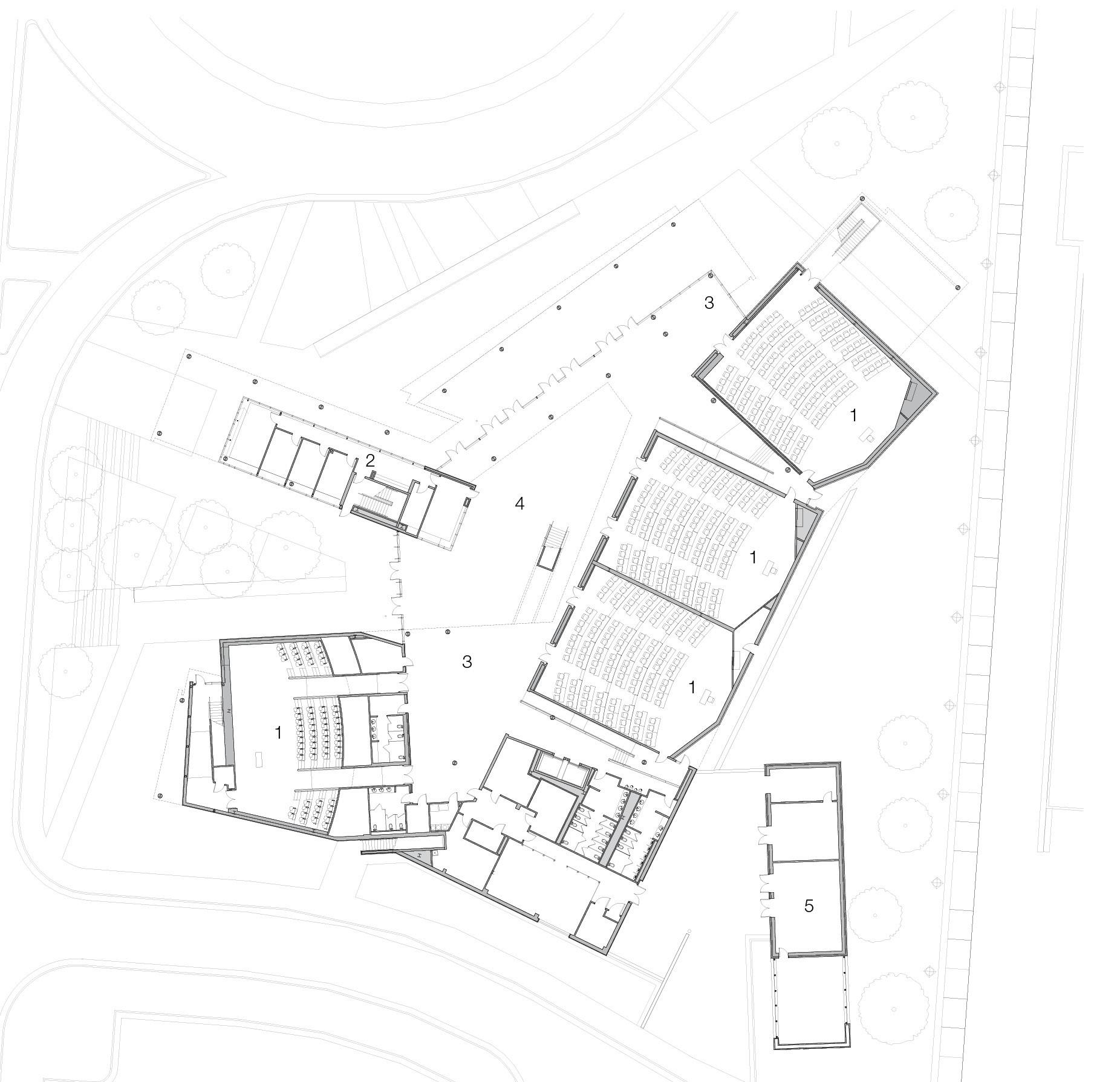 north carolina a t state university the freelon group architects ground floor plan
