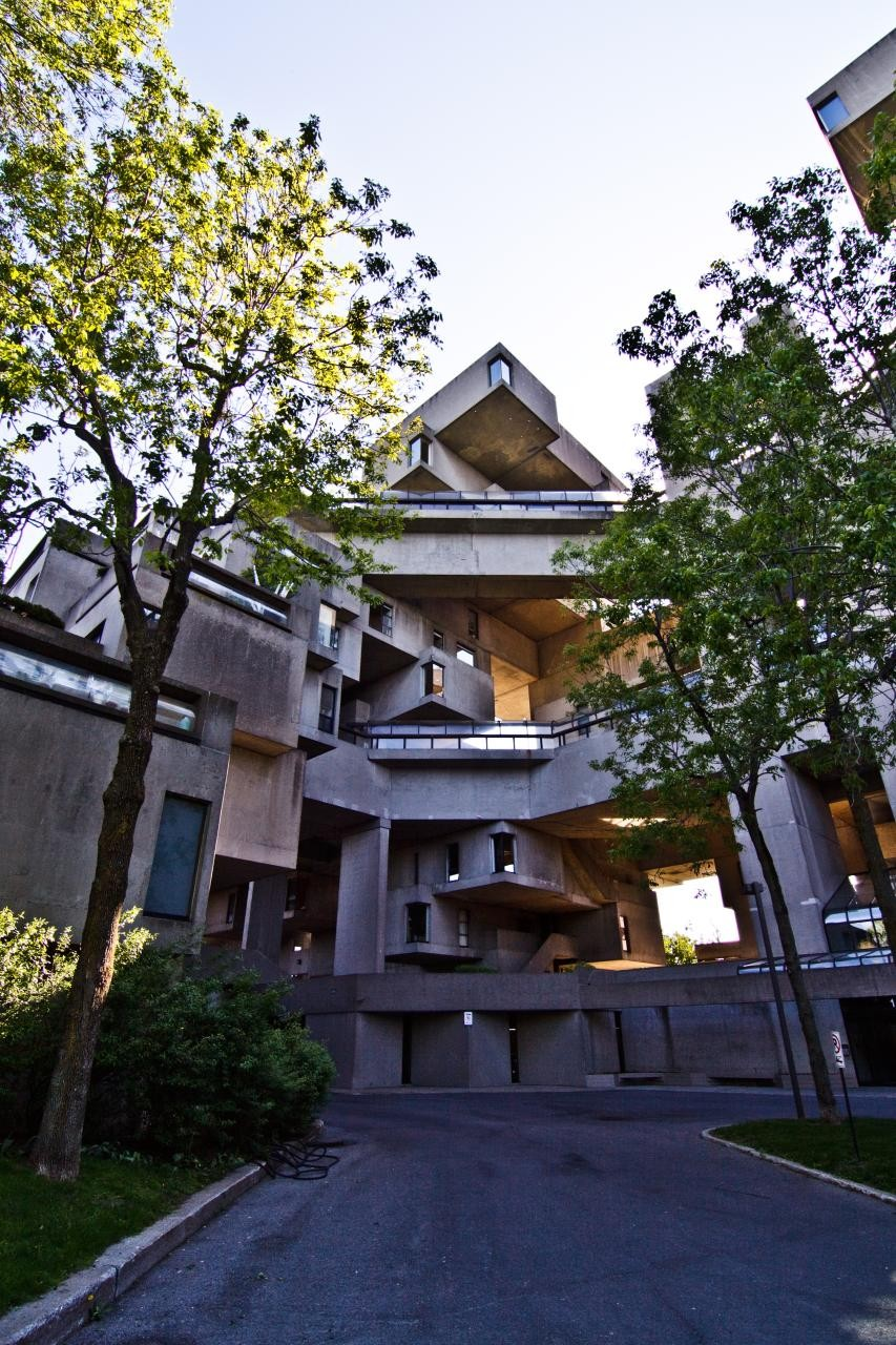 Gallery of ad classics habitat 67 safdie architects 10 for Ad architects