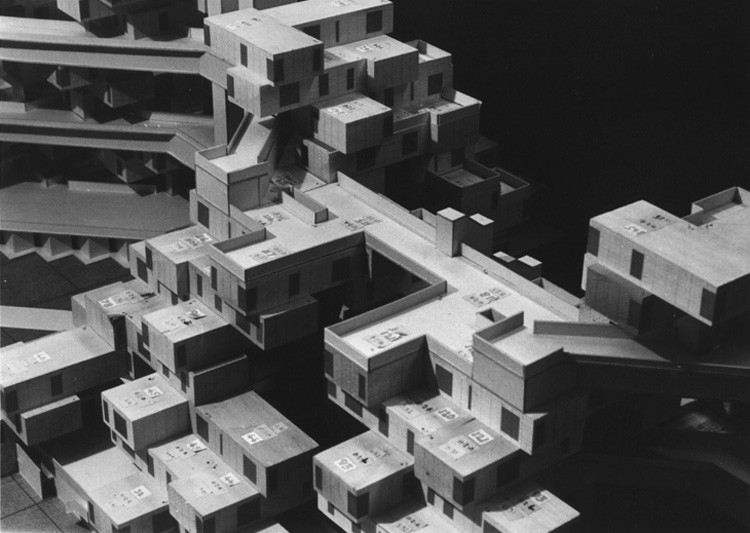 Ad Classics Habitat 67 Moshe Safdie on 3d Studio Apartment Floor Plan