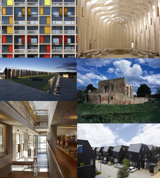 RIBA Shortlist for Stirling Prize Announced